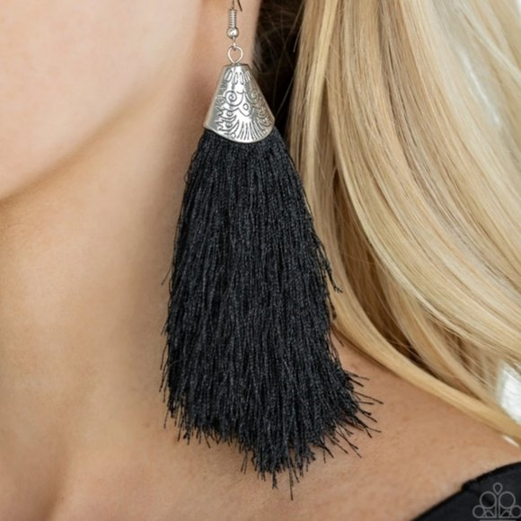 Boho / Tribal Style Fringe Earrings - NWT